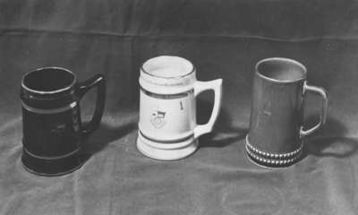 Waterloo Lutheran University mugs