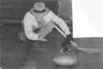 Waterloo College student curling