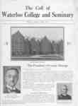 The call of Waterloo College and Seminary, 1931