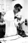 John Kominar in a laboratory