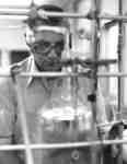 Michael Krech in laboratory