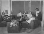 Faculty of Social Work lounge, Wilfrid Laurier University