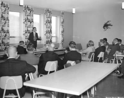 Waterloo Lutheran University Board of Governors meeting, 1964