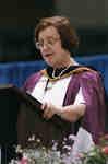 Maureen Kempston Darkes at spring convocation 1998, Wilfrid Laurier University