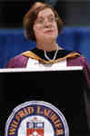 Maureen Kempston Darkes at spring convocation 1998, Wilfrid Laurier University
