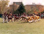 Wilfrid Laurier University football game