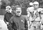 "David ""Tuffy"" Knight during football game"
