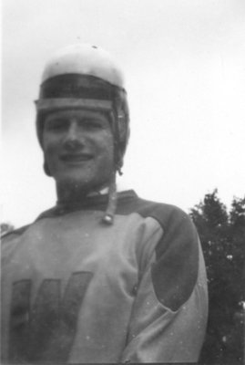 Waterloo College football player
