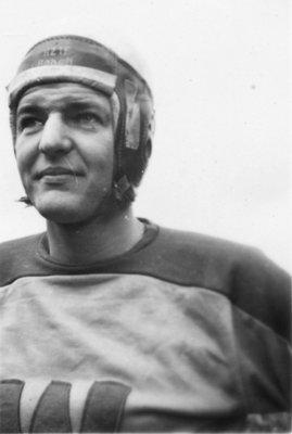Harold Gram, Waterloo College football player
