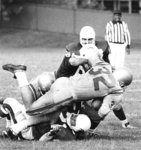Waterloo Lutheran University football game, 1971