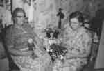 Two women, Trinity Church, New Germany, Nova Scotia