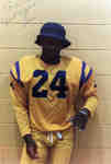 Wilfrid Laurier University football player