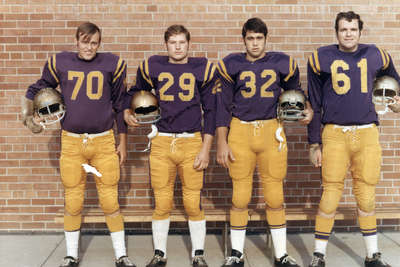 Four Waterloo Lutheran University football players