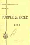 The students of Waterloo College and Associate Faculties proudly present PurpleGold 1957