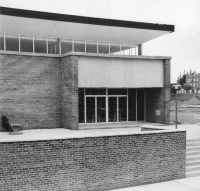 Construction of the Theatre Auditorium, Waterloo Lutheran University