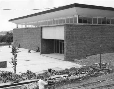 Construction of Theatre Auditorium, Waterloo Lutheran University