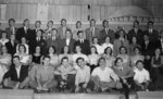Purple and Gold Revue cast and crew, December 1949