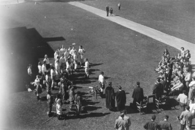 Waterloo College initiation week, 1949