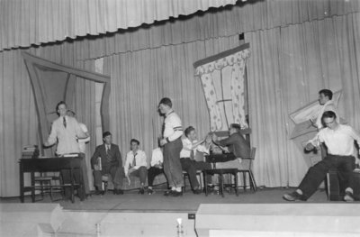 Purple and Gold Revue, December 1949
