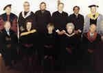 Faculty of Social Work faculty members, 1977