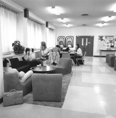 Faculty of Social Work lounge, Wilfrid Laurier University