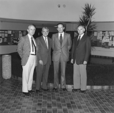 Four former deans of the Faculty of Social Work, Wilfrid Laurier University