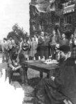 Waterloo College initiation week Frosh Court, 1947