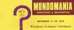 Mondomania orientation & registration, September 11-22, 1972 : Waterloo Lutheran University