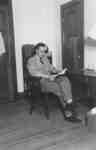 Man sitting in chair
