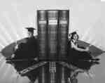Waterloo College student bookends