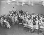 Church service held at YMCA Lachine, Quebec