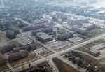 Aerial view of Waterloo Lutheran University