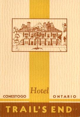 Hotel Trail's End, Conestogo, Ontario