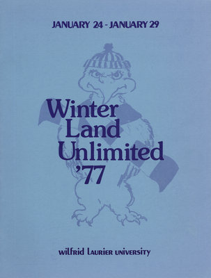 Winter land unlimited '77 : Wilfrid Laurier University