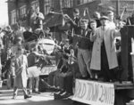 Waterloo College Homecoming parade, 1955