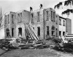 Demolition of Conrad Hall, Waterloo Lutheran University
