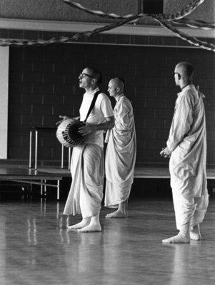 Hare Krishnas at Waterloo Lutheran University