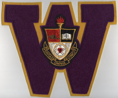 First letter, Waterloo College Athletic Association
