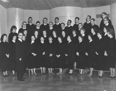 Waterloo College Choir, 1961-62