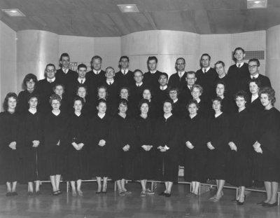Waterloo College Choir, 1961-62