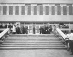 Dedication of Waterloo Lutheran University Library