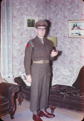 Waterloo College C.O.T.C. cadet Harold Russell