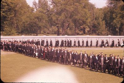 University of Western Ontario spring convocation 1958