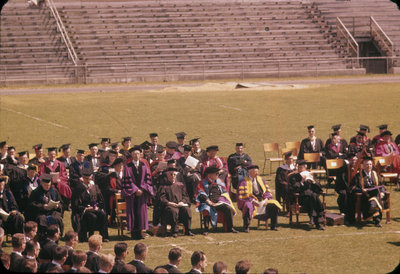 University of Western Ontario spring convocation 1958
