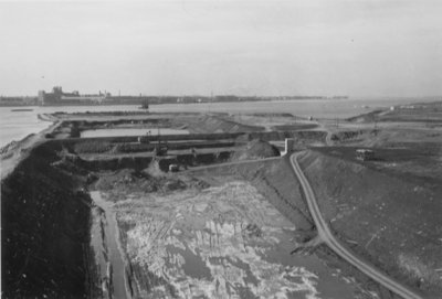 Construction of St. Lawrence Seaway