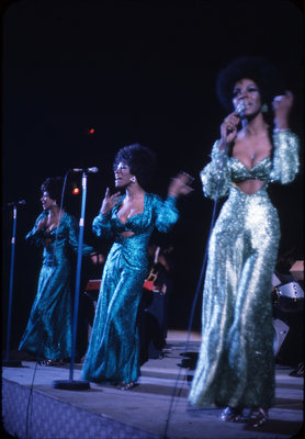 Martha Reeves and the Vandellas performing at Waterloo Lutheran University Winter Carnival 1970