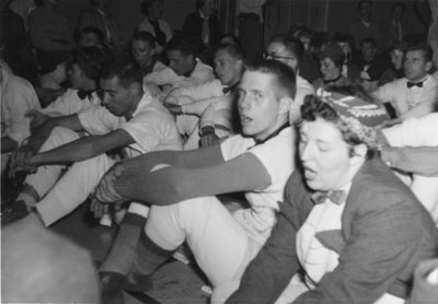 Waterloo College Orientation Week, 1955