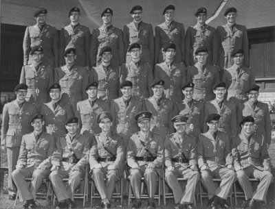 Royal Canadian School of Signals, 2nd year COTC No 4 Tp, 1956 Kingston Ontario