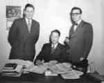 Reuben Baetz, Lloyd Schaus and Helmut Binhammer