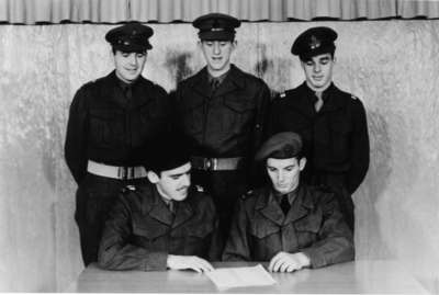 Waterloo College detachment of the Canadian Officers' Training Corps, 1954-55